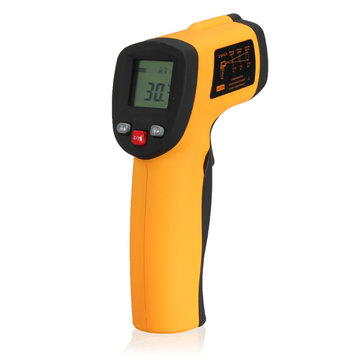 BENETECH GM550 Non Contact Digital IR Laser Infrared Temperature Meter Gun ThermoMetetester -50-550℃